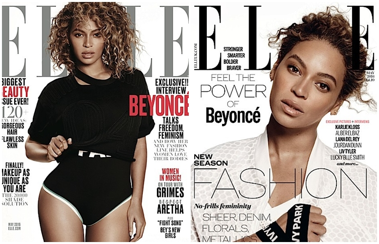 Beyonce Covers Elle Mag 2016
