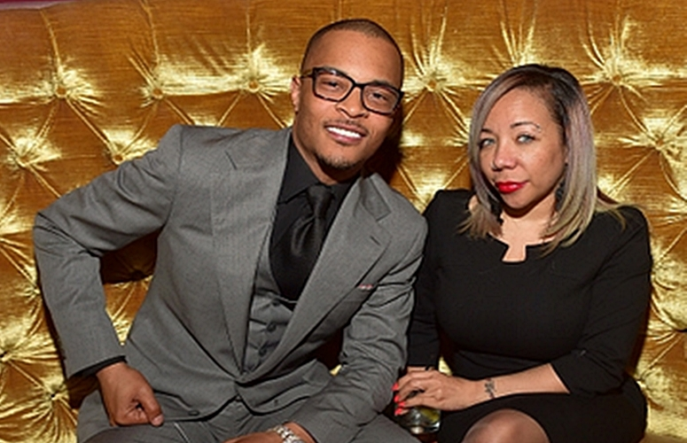 T.I. and Wife Tiny